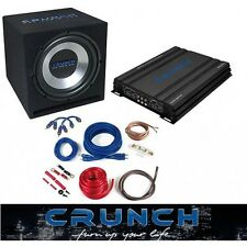 Crunch cbp-1000 BASS PACK 4ch Bass pacchetto 1000 W Ground Pounder-SERIE cbp1000