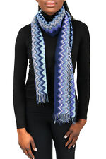 Missoni SC31PSD5928 0002 Purple/Blue Wool Blend  Womens Scarf