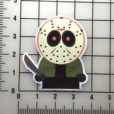 """South Park Jason Voorhies Friday the 13th 4"""" Tall Vinyl Decal Sticker BOGO"""