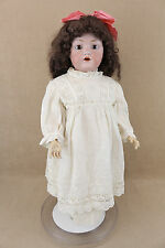 "26"" antique bisque head composition German J.D. Kestner Doll ALPHABET Series"