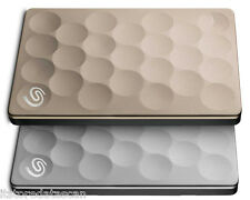 Seagate Backup Plus Ultra Slim Drive 2 TB External Hard Disk Drive  (Gold)#