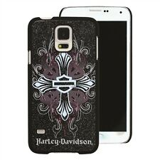 Harley Davidson 7737 Bling Cross Protective Cover for Samsung Galaxy S5