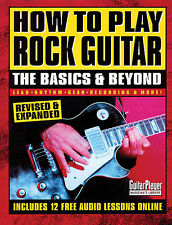 How to Play Rock Guitar The Basics & Beyond Easy Licks Riffs Music Book
