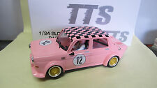 BRM 1:24 slot car simca 1000 Nº 12 en rose ref. tjb 03