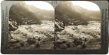 Keystone Stereoview the Pass of Thermopylae, GREECE from 1910's Education Set #B
