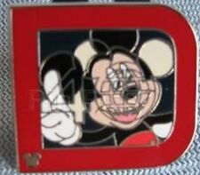Disney Pin: WDW 2011 Hidden Mickey Completer Pin - Classic 'D' Collection Mickey