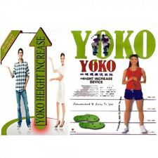 Original YOKO Height Increasing Insoles device Magneto Therapy Foot Soles Grow