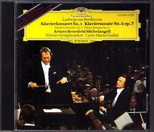 Arturo Benedetti MICHELANGELI: BEETHOVEN Piano Concerto No.1 Sonata 4 GIULINI CD