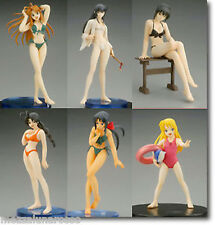 LOVE HINA STORY IMAGE FIGURE - SET COMPLETO DI 6 FIGURES - Yamato FULL SET