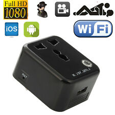 WiFi Wall Charger Hidden Camera Adapter Adaptor Spy HD Recorder Covert Clock DVR