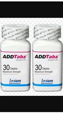 ADDTabz 422mg REFORMULATED  (30 Count) Sale Is For 2 Bottles of ADDTABZ