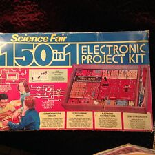 Vintage Science Fair 150 in 1 Electronic Project Kit Radio Shack