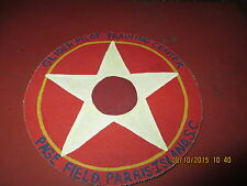 WWII USMC GLIDER PILOT TRAINING CTR PAGE FIELD PARRIS ISLAND SC  JACKET PATCH