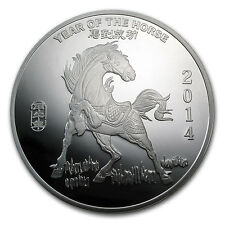 10 oz Year of the Horse Silver Round