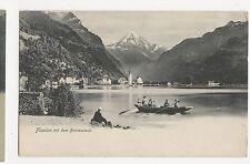 Switzerland, Fluen mit dem Bristenstock 1908 Postcard, A860