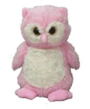 New Microwavable Heat Packs Cozy Soft Toy Pink OWL