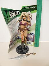 McFarlane Adventures of Spawn Series 30 TIFFANY THE AMAZON Loose Complete