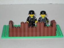 Lego Custom Minifig WW2 German Modern Warfare Machine Gun Nest with 2 Minifigs