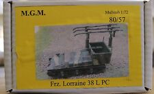 MGM 80-57 1/72 Resin WWII French Lorraine 38 L PC