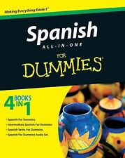 Spanish All-in-One for Dummies by Consumer Dummies Staff (2009, Paperback)
