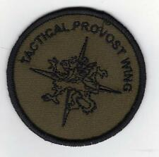 ROYAL AIR FORCE POLICE TACTICAL PROVOST WING CLOTH BADGE  no-643