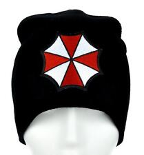 Resident Evil Umbrella Corporation Beanie Alternative Clothing Knit Cap Zombies