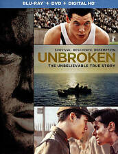 Unbroken (Blu-ray Disc, No DVD, 2015)