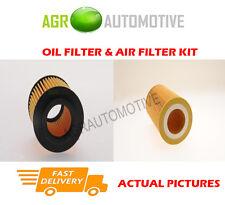 DIESEL SERVICE KIT OIL AIR FILTER FOR SAAB 9-5 1.9 150 BHP 2005-10