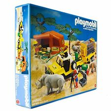 1984 Schaper Playmobil 9768 Animal Series Safari Scene Old Vintage (new)