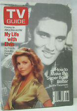 Vtg TV Guide January 30 - February 5 1988 My Life with Elvis Presley Collectible