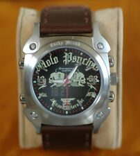 Lucky Brand MOTO PSYCHOS Watch WITH DIGITAL DAY/DATE SCROLLING
