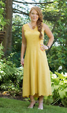 "NWT NEW April Cornell Summery 100% Cotton ""Mirabelle"" Dress Sundress S"
