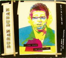 DURAN DURAN 'TOO MUCH INFORMATION' 4-TRACK CD DOUBLE PACK