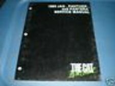 Arctic Cat Service Repair Manual 85 Jag Panther Pantera