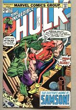 Incredible Hulk #193-1975 fn- Herb Trimpe Doc Samson Gil Kane