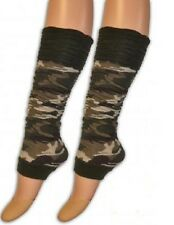SEXY CAMOUFLAGE ARMY ROUGE TOP LEG WARMERS.