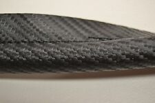 CARBON FIBER LOOK BLACK STITCHED VINYL BLACK HEADLINER WINDLACE BY THE FOOT