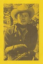 ACTORS - POSTCARD SIZED CARD - WESTERNS / COWBOY FILMS  -  TIM  HOLT