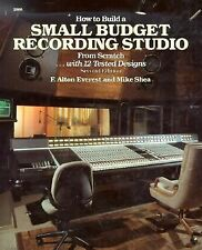 How to Build a Small Budget Recording Studio from Scratch-with 12 Tested...
