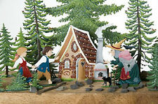 Wilhelm Schweizer German Fairytale Pewter Zinn - Hansel & Gretel - 9 Piece Set