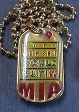 MIA HAMM #9 WOMEN'S WORLD CUP 1999 DOG TAG