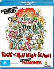 ROCK'N'ROLL HIGH SCHOOL (1979 Ramones) -   BLU RAY  - Sealed Region B