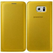 Genuine Samsung FLIP CASE GALAXY S6 EDGE mobile cover original cell phone wallet