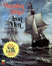 Avalon Hill Wooden Ships & Iron Men Game PDF Reference Disc + Free P&P
