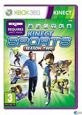 Kinect Sports: Season Two (Microsoft Xbox 360) PAL Region, Brand New, Sealed !!