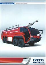 Fire Equipment Brochure - Iveco Magirus - Superdragon x8 - Airport 17K (DB237)
