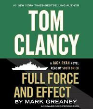 Tom Clancy Full Force and Effect (A Jack Ryan Novel) by Brick, Scott