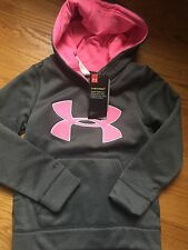 Under Armour Kids Girls Youth XS Hoodie Storm Water Resistant NWT