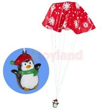PENGUIN PARACHUTE FLYING TOY KIDS BOY GIRL GIFT BIRTHDAY PARTY BAG FILLER LOOT