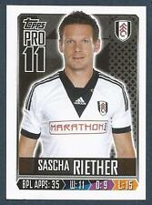 TOPPS 2013/14 PREMIER LEAGUE #106-FULHAM & GERMANY-SASCHA RIETHER